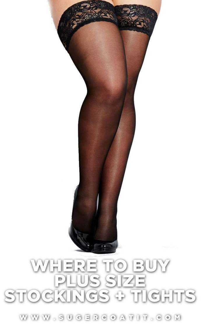 where to buy plus size stockings tights - australia - suger coat it