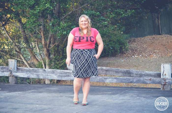 epic t-shirt plus size casual outfit-3