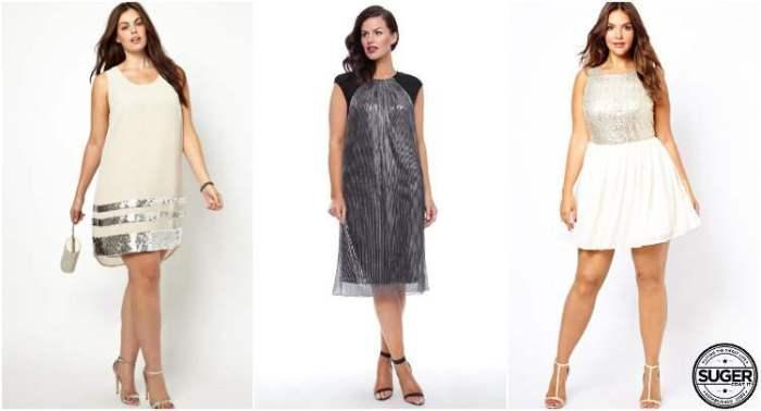 plus size shimmer shine races dress