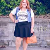 custom t-shirt summer outfit plus size-2