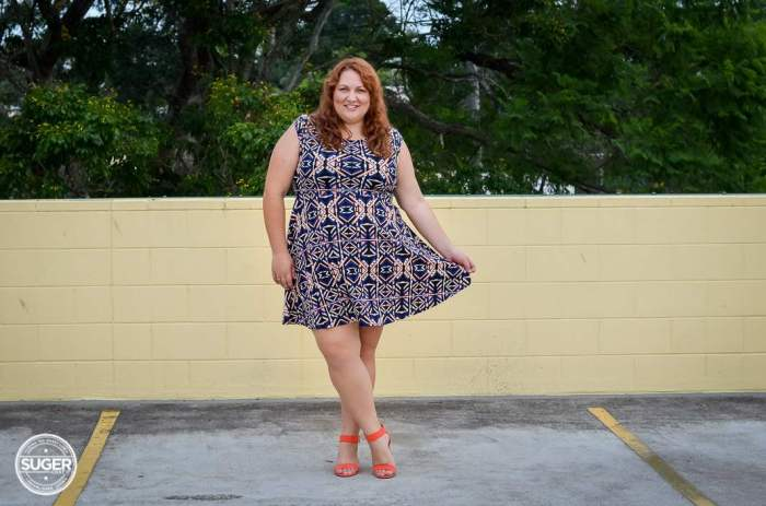 plus size forever 21 dress casual outfit-6
