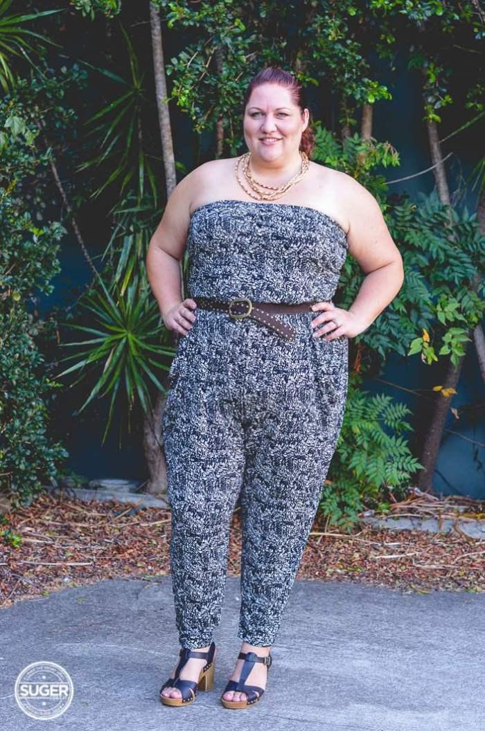 plus size city chic patterened jumpsuit-7