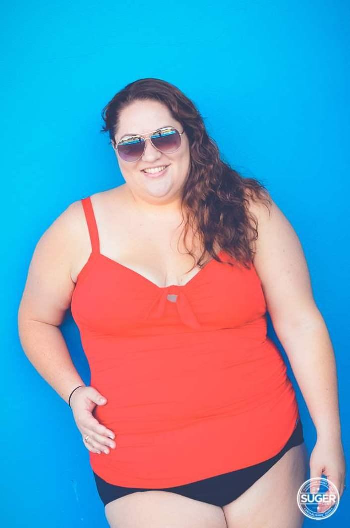 plus-size swimwear pool-12