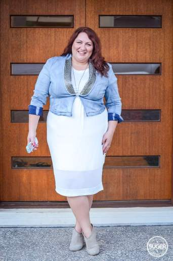 plus size date night outfit boohoo 17 sundays-3
