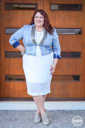 plus size date night outfit boohoo 17 sundays-4