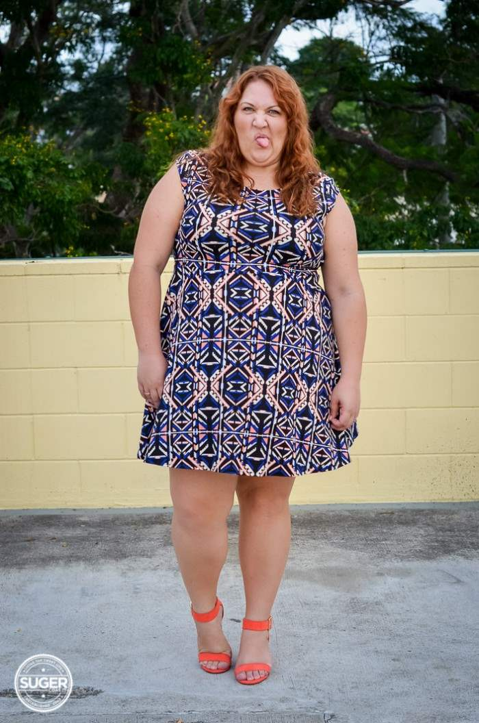 plus size forever 21 dress casual outfit-1