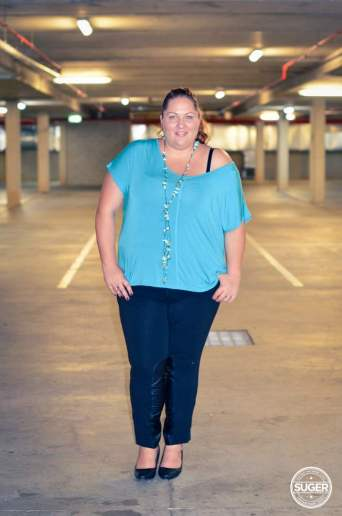 plus size oversized t-shirt 17 sundays moto pants harlow-1
