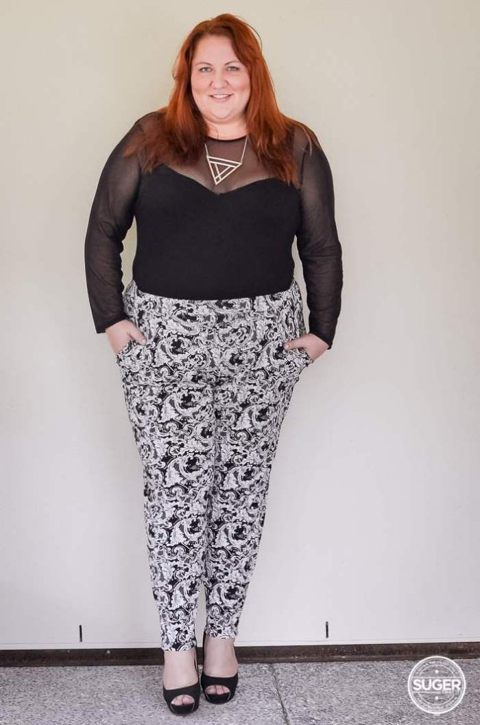 plus size monochrome outfit with bodysuit-1