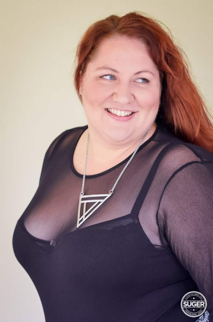 plus size monochrome outfit with bodysuit-10