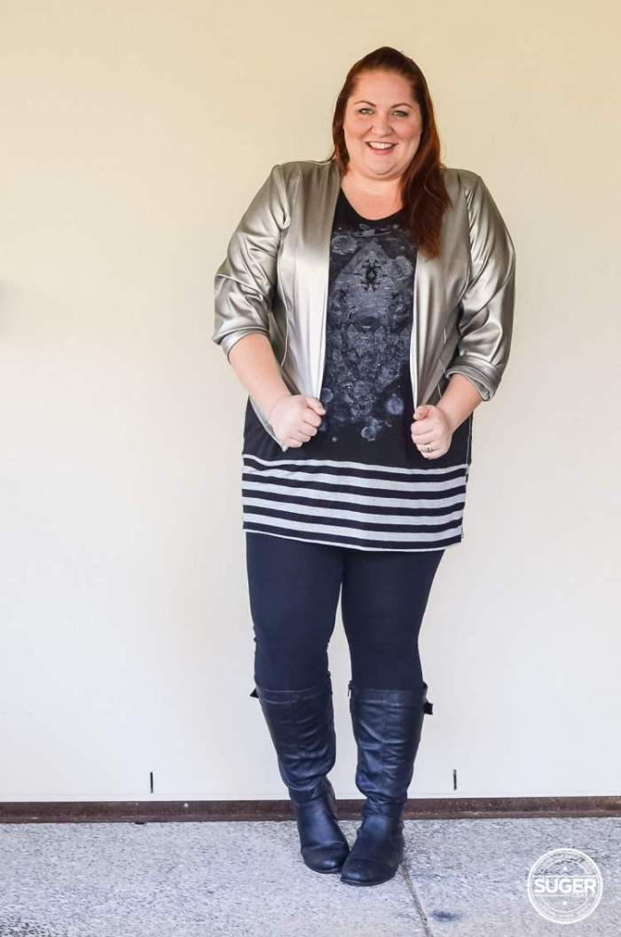 plus size tunic + leggings + boots outfit-4