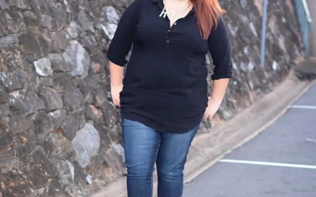 Skinny Jeans for a Plus Size Woman