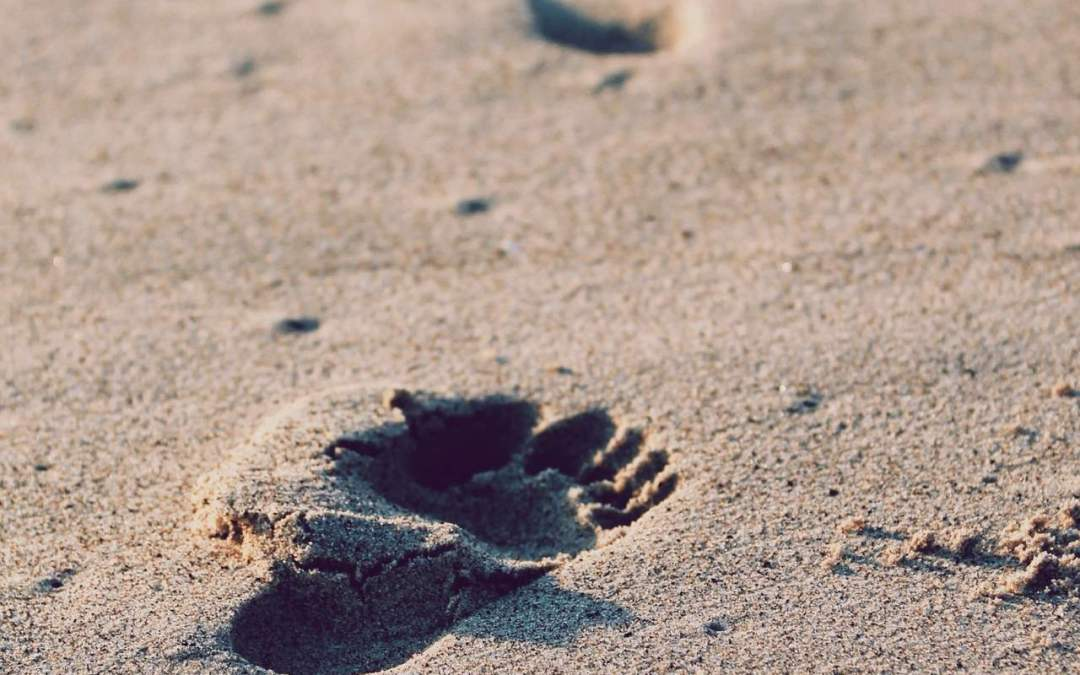 footprints in the sand exercise