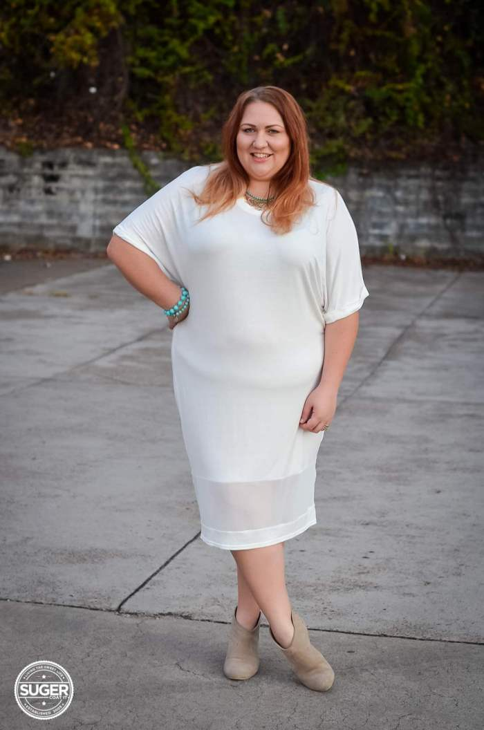 boohoo white dress plus size fashion-2