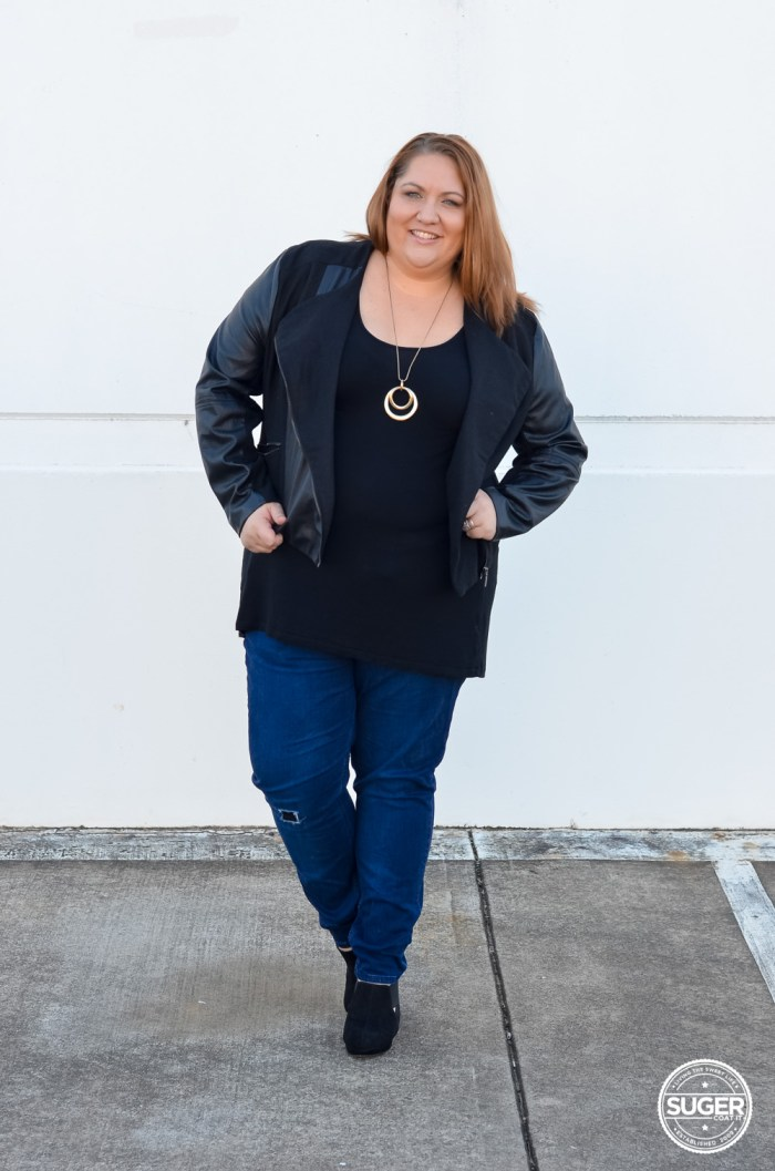 winter plus size outfit 17 sundays denim suger coat it-1