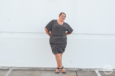 all stripe plus size work outfit-9