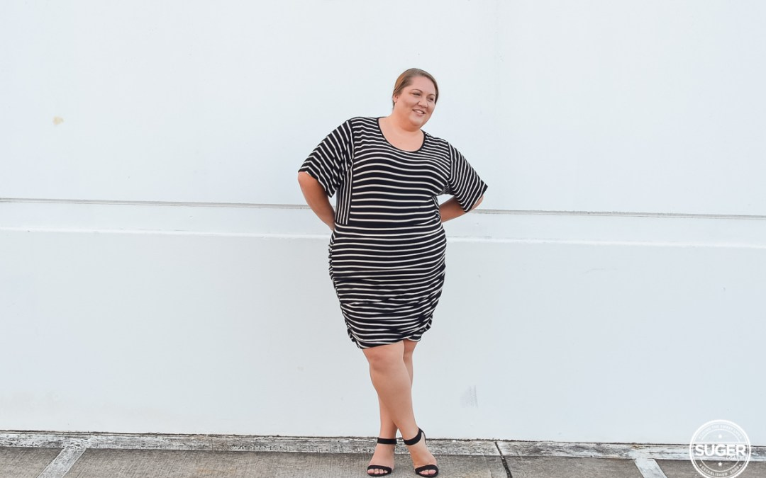 Work Style Outfit: Stripe on Stripe