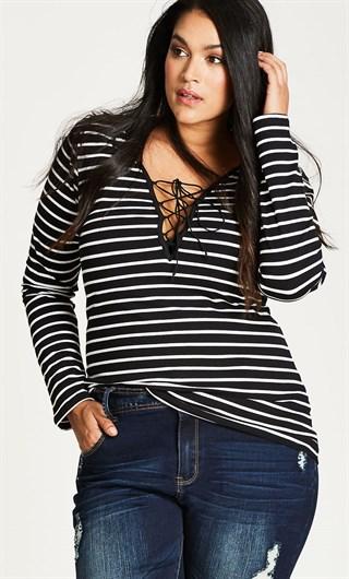Where to Buy Plus Size Stripe Goodness!