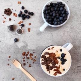 Coffee & Blueberry Smoothie Bowl