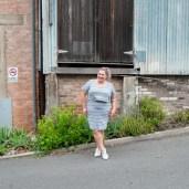 Plus Size Stripe Casual Dress | Suger Coat It