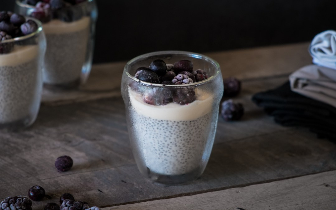 Berry Coconut Chia Cups; breakfast or dessert?