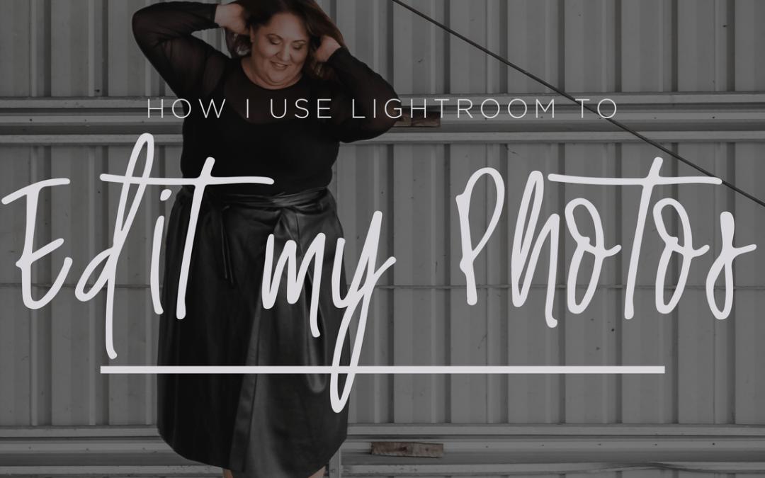 How I Use Lightroom to Edit my Photos | www.sugercoatit.com