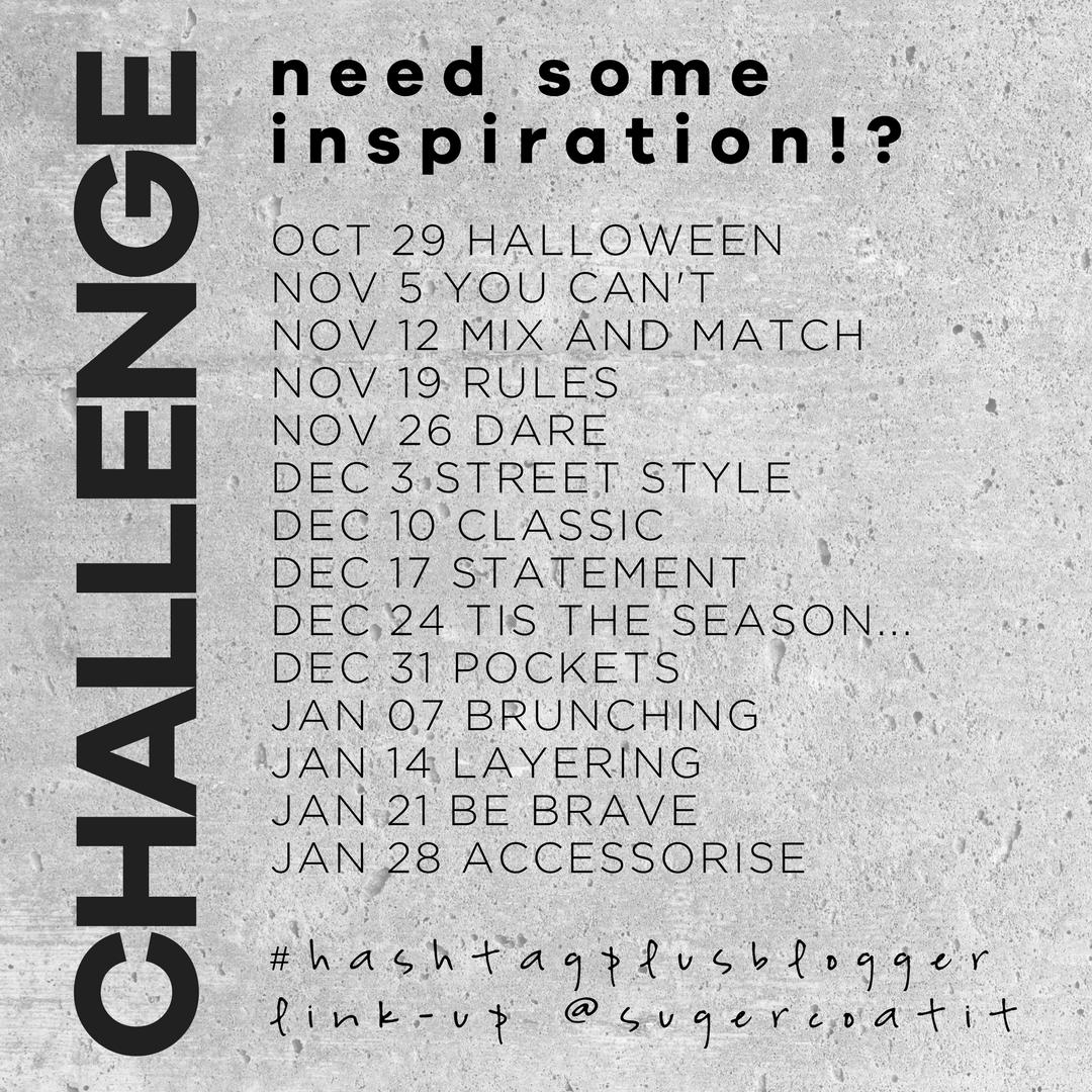 hashtag plus blogger challenge