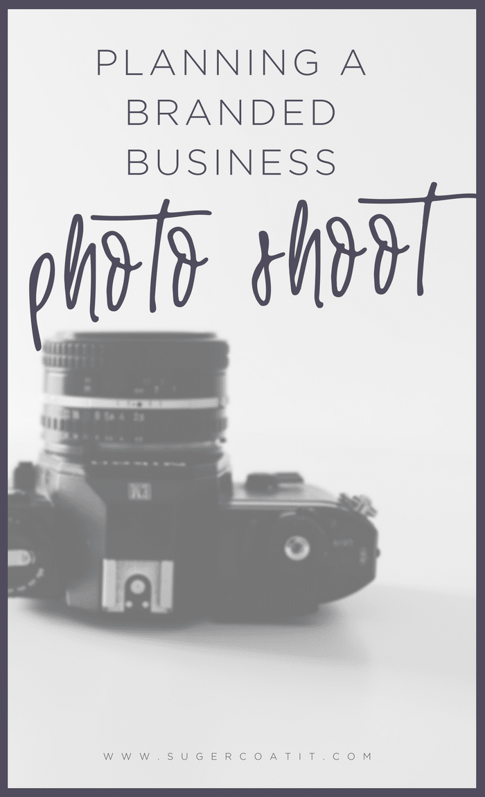 Plan your own business photo shoot - Suger Coat It