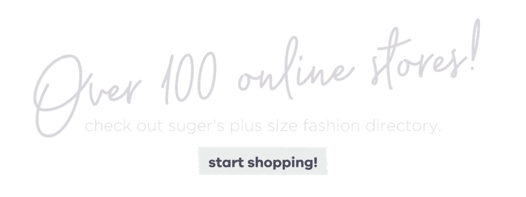 Plus Size Fashion Online Store Directory - Suger Coat It