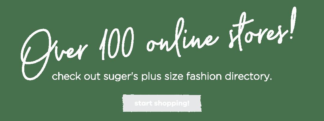 Plus-Size fashion Shops - Melissa Walker Horn Suger Coat It Australia