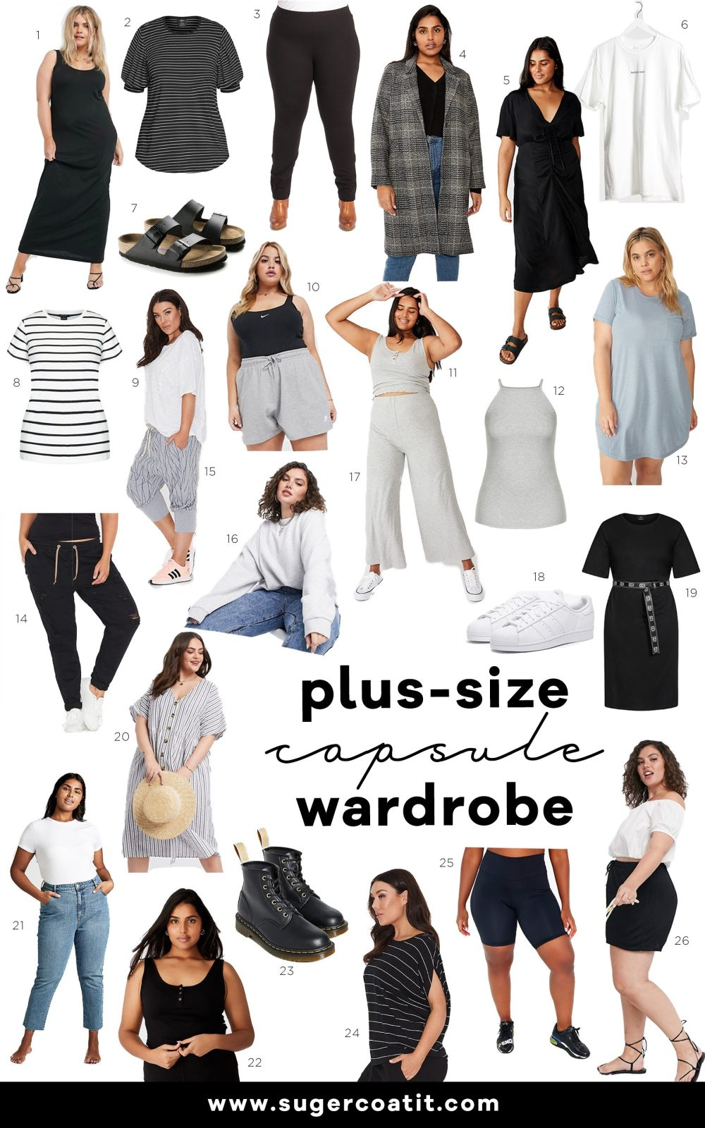Casual Plus Size Capsule Wardrobe - Suger Coat It 2020