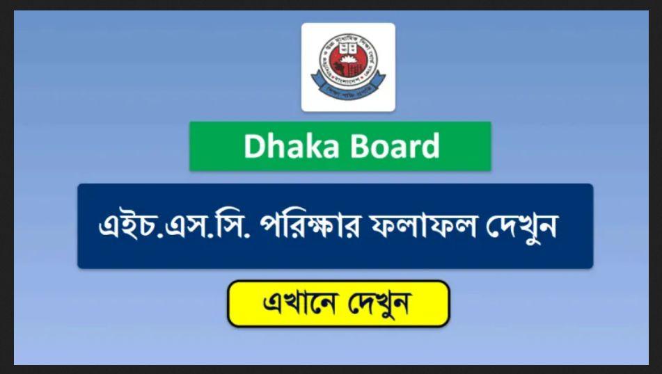 HSC Result Dhaka Board