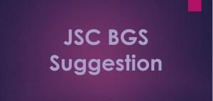 JSC Bangladesh and Global Studies Suggestion 2019