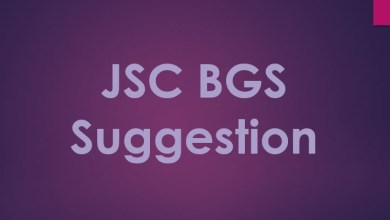 JSC Bangladesh and Global Studies Suggestion 2019