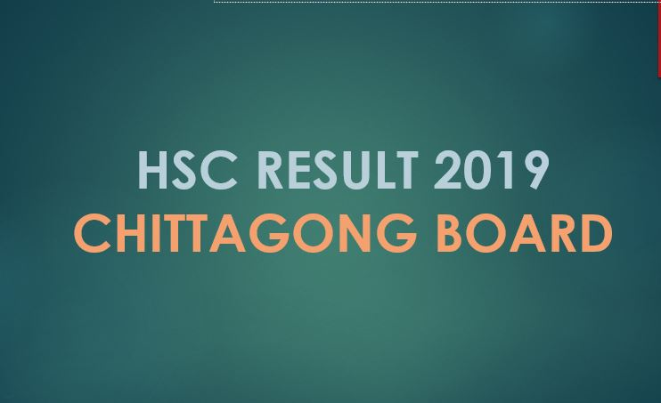 Check HSC Result 2019 Chittagong Board