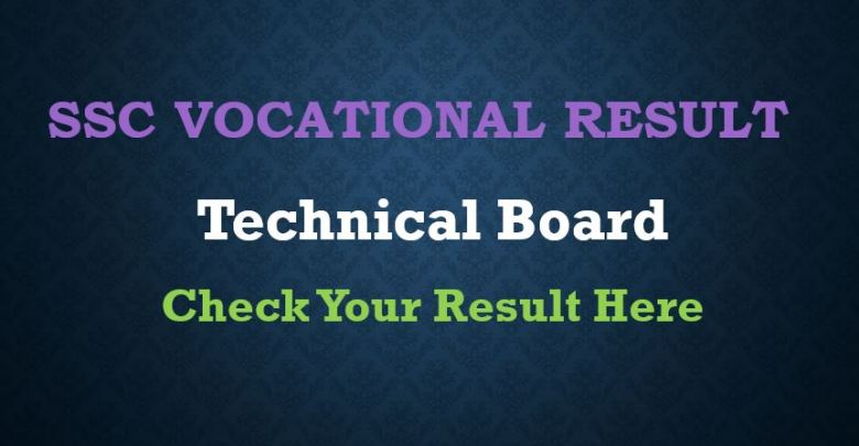 HSC Vocational Result 2019 Technical Board