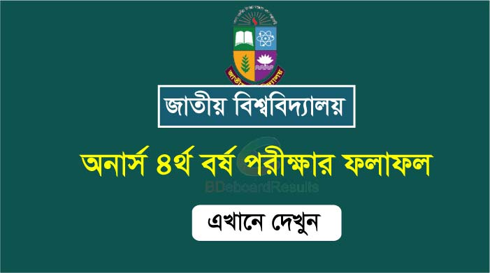 The Honours 4th Year Result Published