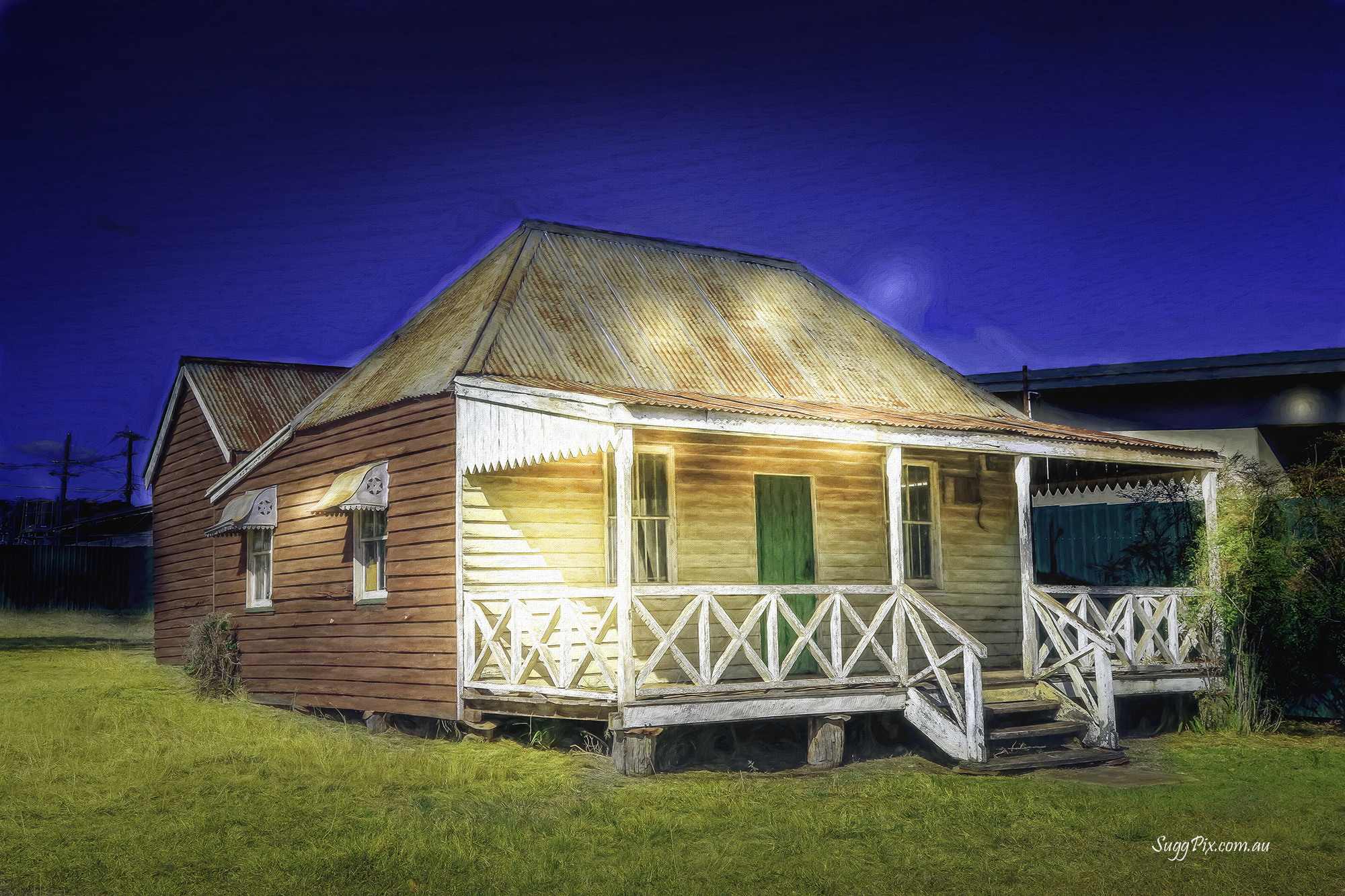 Kingaroy - pioneers house.