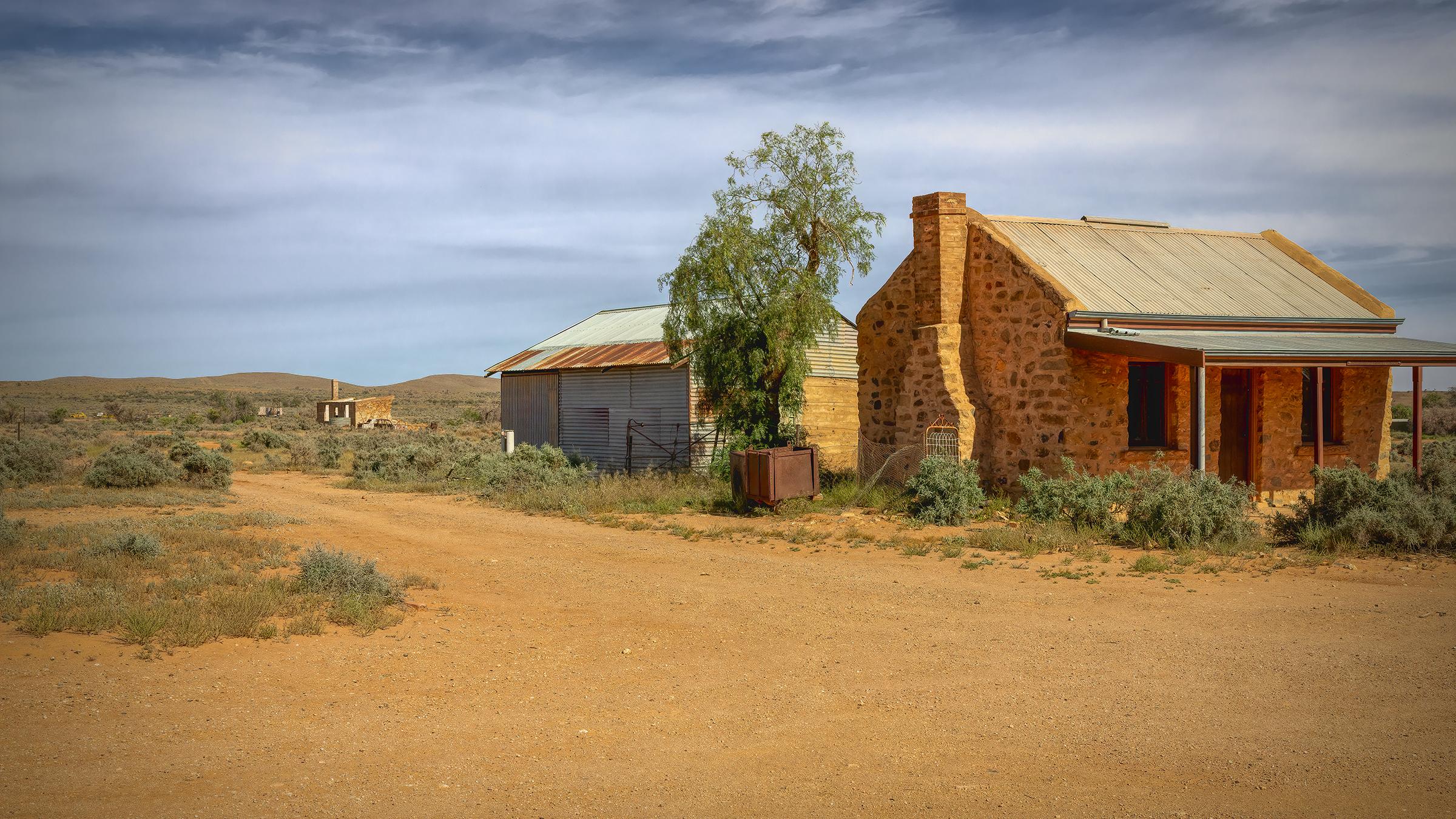 Ruins Silverton Outback NSW