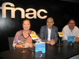 Elsa López, Nicolás Melini y Juan Carlos Chirinos