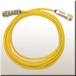 the sensor cable yellow