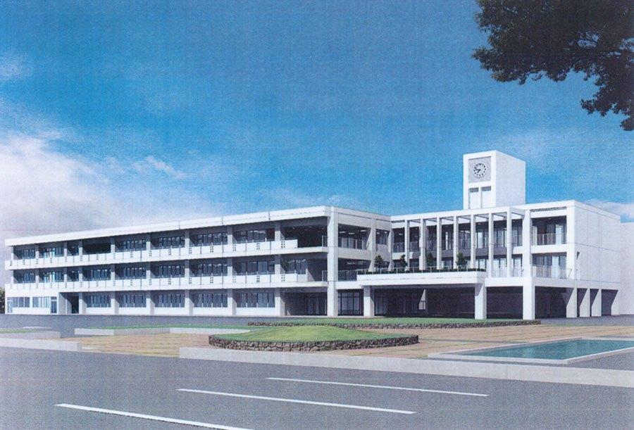 高松南高校 校舎棟第1期改築工事