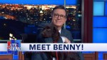 【犬猫動物動画まとめ】Stephen's New Puppy Benny Makes His Late Show Debut