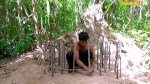 【犬猫動物動画まとめ】Collect Abandoned Puppy and Build Castle Mud Dog House on Unused Ant Hill