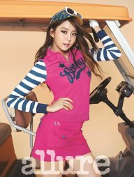 After School Uee - Allure Magazine September Issue '13 6