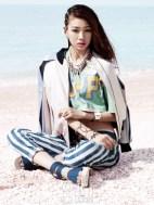 Jung Ho Yeon Vogue Girl Magazine April 2013 (2)