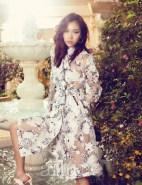 Kim Won Kyung Floral Allure Magazine April 2013 (8)