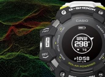 心拍計とGPSを搭載したG-SHOK G-SQUAD