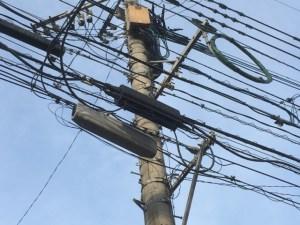 電信柱と雑学