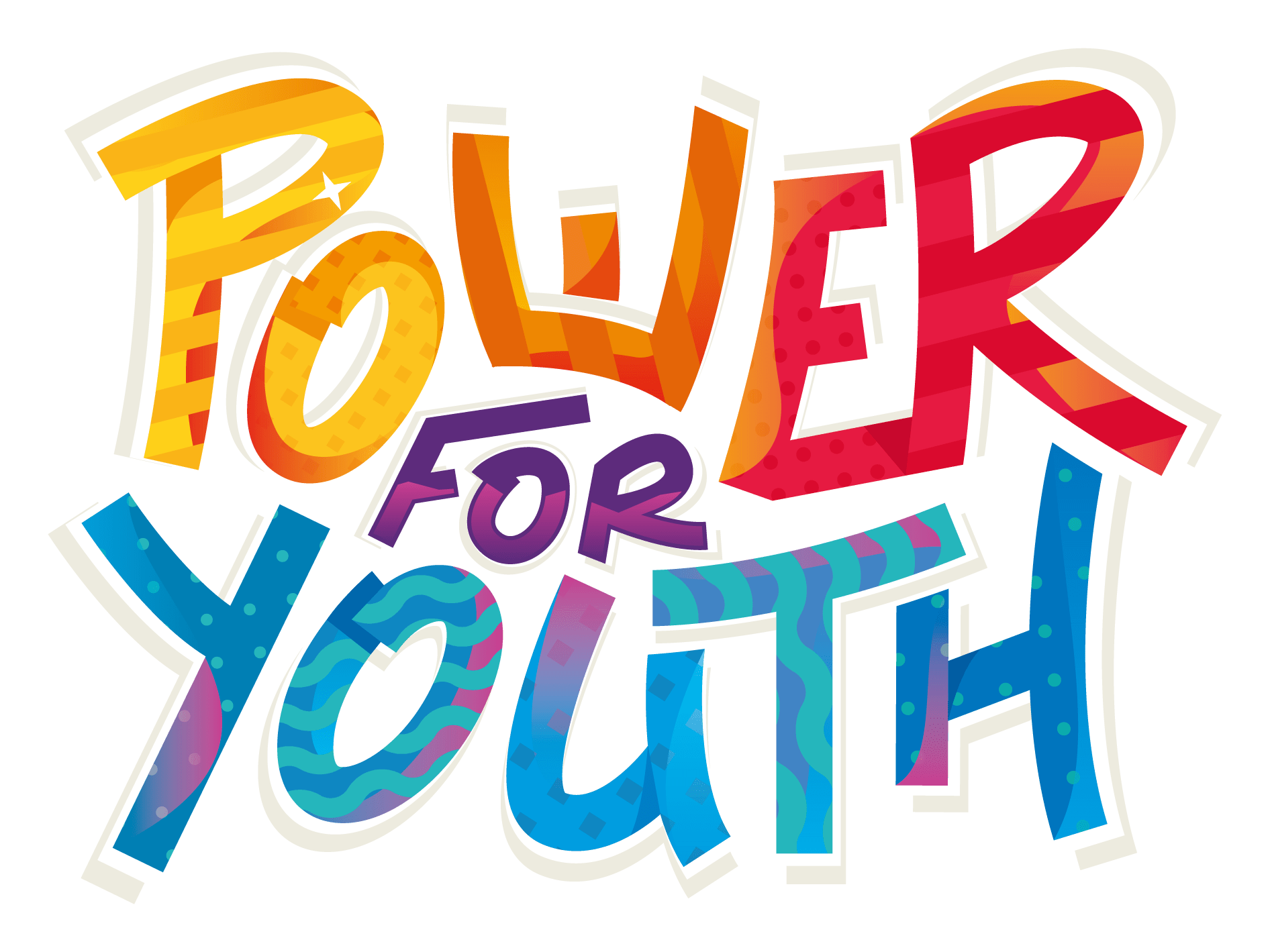 PowerForYouth Wordmark_Colored_withEffects