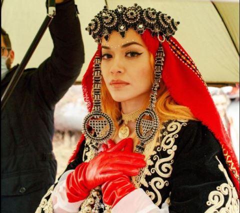 Rita Ora: Urime 13 vjet Pavarësi Kosova e jonë